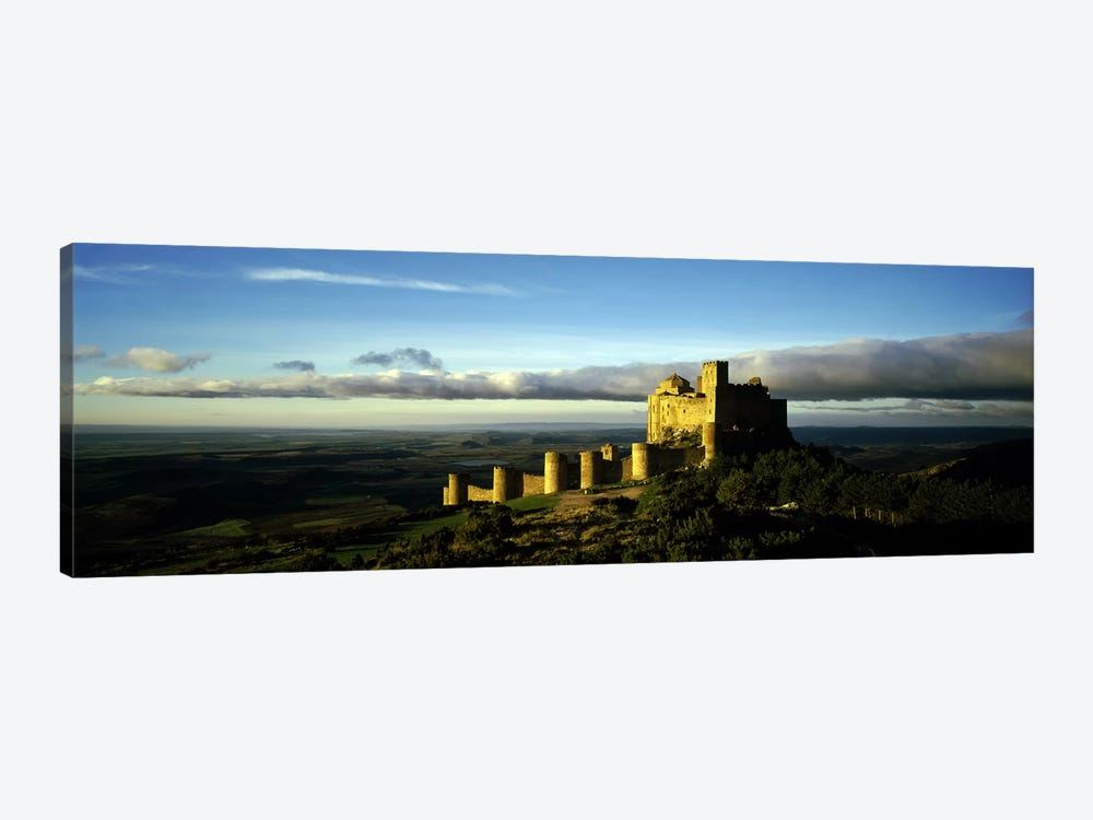 Castle on a hill, Loarre Castle, Huesca, Aragon, Spain by Panoramic Images 1-piece Canvas Wall Art