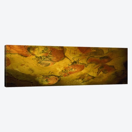 Parietal Paintings, Cave Of Altamira, Near Santillana del Mar, Cantabria, Spain Canvas Print #PIM8684} by Panoramic Images Canvas Artwork