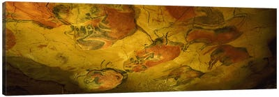 Parietal Paintings, Cave Of Altamira, Near Santillana del Mar, Cantabria, Spain Canvas Art Print