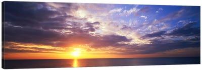SunsetWater, Ocean, Caribbean Island, Grand Cayman Island Canvas Print #PIM869
