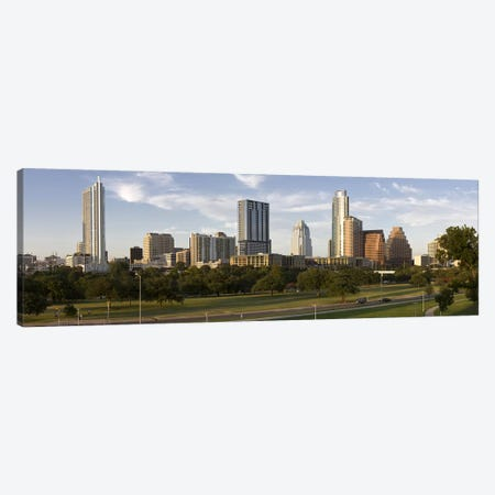 Buildings in a city, Austin, Travis County, Texas, USA Canvas Print #PIM8703} by Panoramic Images Canvas Wall Art