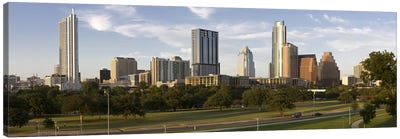 Buildings in a city, Austin, Travis County, Texas, USA Canvas Art Print