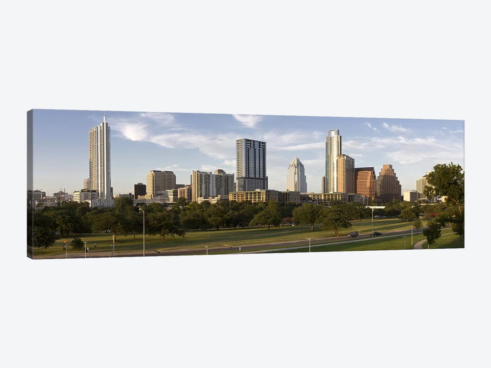 Buildings in a city, Austin, Travis County, Texas, USA by Panoramic Images 1-piece Canvas Art Print