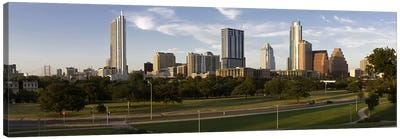 Buildings in a city, Austin, Travis County, Texas, USA #2 Canvas Art Print