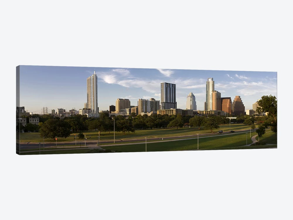 Buildings in a city, Austin, Travis County, Texas, USA #2 by Panoramic Images 1-piece Canvas Wall Art