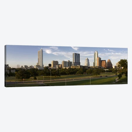 Buildings in a city, Austin, Travis County, Texas, USA #2 Canvas Print #PIM8704} by Panoramic Images Art Print