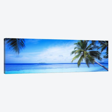 Tropical Seascape, Indian Ocean Canvas Print #PIM870} by Panoramic Images Canvas Art Print