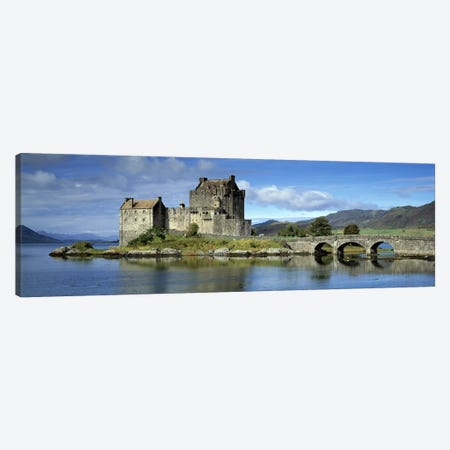 Eilean Donan Castle, Kintail National Scenic Area, Highland, Scotland, United Kingdom Canvas Print #PIM8719} by Panoramic Images Canvas Art Print
