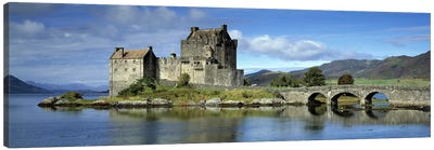 Eilean Donan Castle, Kintail National Scenic Area, Highland, Scotland, United Kingdom Canvas Print #PIM8719