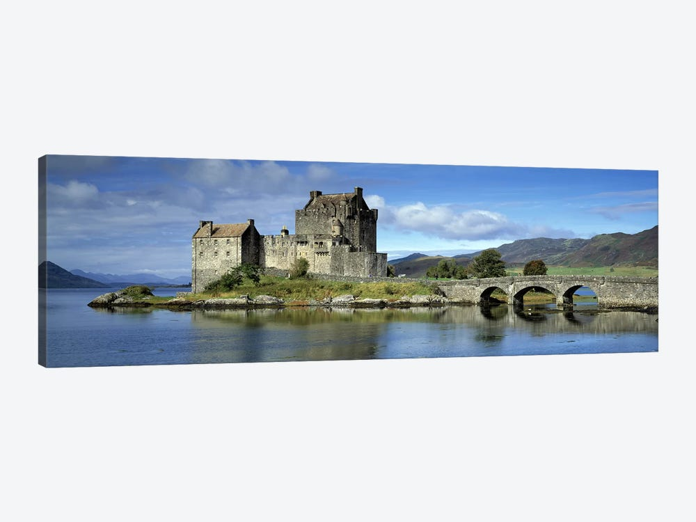 Eilean Donan Castle, Kintail National Scenic Area, Highland, Scotland, United Kingdom by Panoramic Images 1-piece Canvas Wall Art