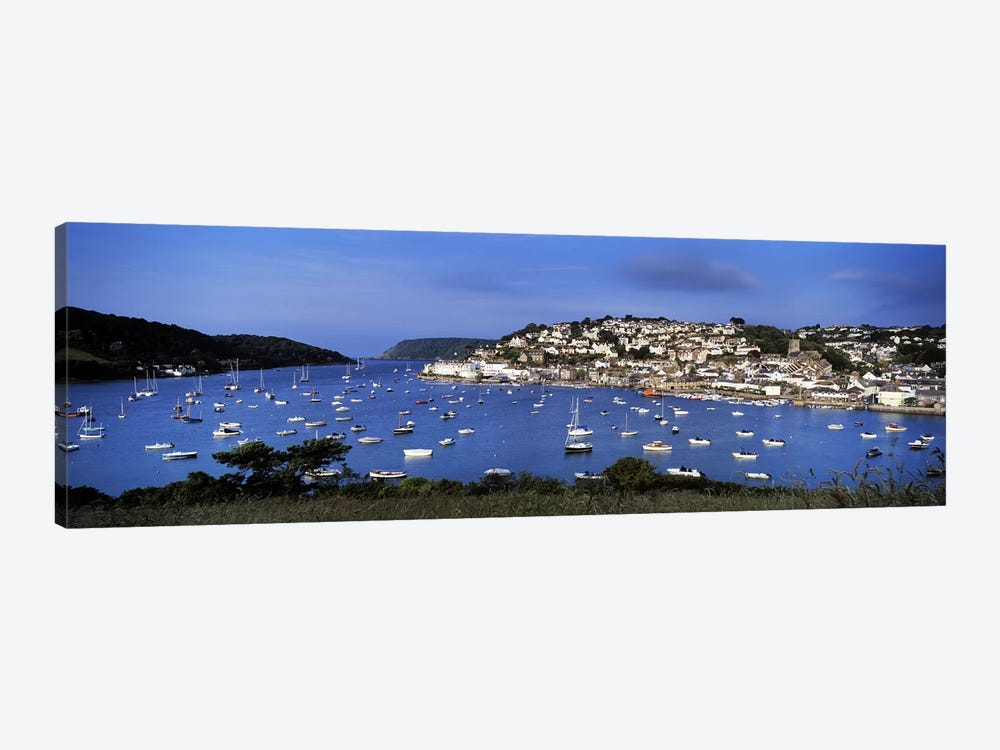 Harbour And Waterfront Architecture, Salcombe, South Hams, Devon, England, United Kingdom by Panoramic Images 1-piece Canvas Artwork