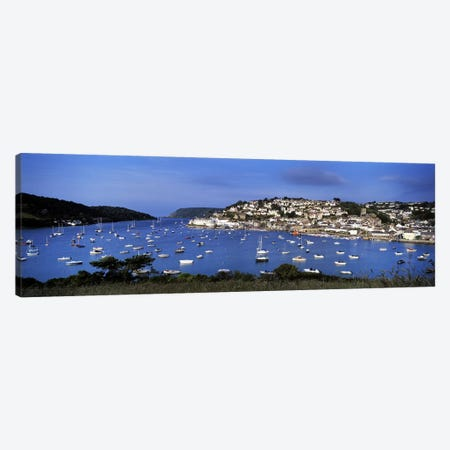 Harbour And Waterfront Architecture, Salcombe, South Hams, Devon, England, United Kingdom Canvas Print #PIM8720} by Panoramic Images Canvas Art