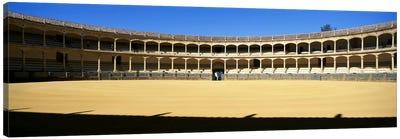 Bullring, Plaza de Toros, Ronda, Malaga, Andalusia, Spain Canvas Print #PIM8724