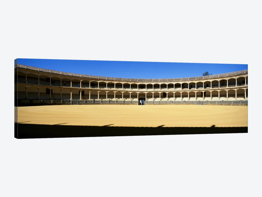 Bullring, Plaza de Toros, Ronda, Malaga, Andalusia, Spain by Panoramic Images 1-piece Canvas Artwork