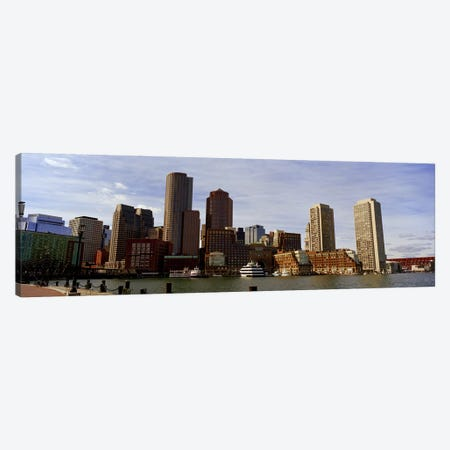 City at the waterfront, Fan Pier, Boston, Suffolk County, Massachusetts, USA 2010 Canvas Print #PIM8733} by Panoramic Images Canvas Art Print