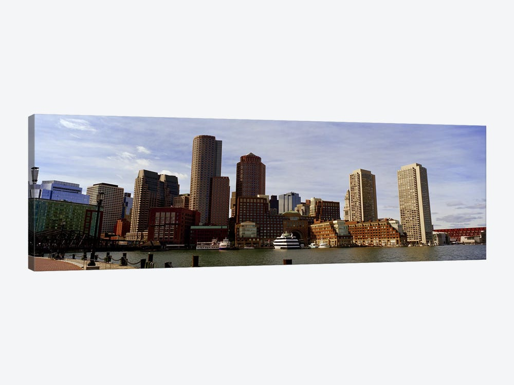 City at the waterfront, Fan Pier, Boston, Suffolk County, Massachusetts, USA 2010 by Panoramic Images 1-piece Canvas Artwork