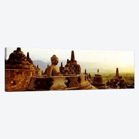 Indonesia, Java, Borobudur Temple Canvas Print #PIM874} by Panoramic Images Canvas Art