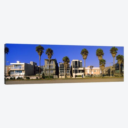 Buildings in a city, Venice Beach, City of Los Angeles, California, USA Canvas Print #PIM8756} by Panoramic Images Canvas Art