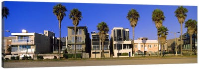 Buildings in a city, Venice Beach, City of Los Angeles, California, USA Canvas Art Print