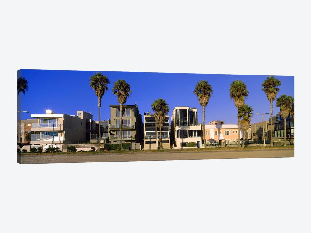 Buildings in a city, Venice Beach, City of Los Angeles, California, USA by Panoramic Images 1-piece Canvas Art Print