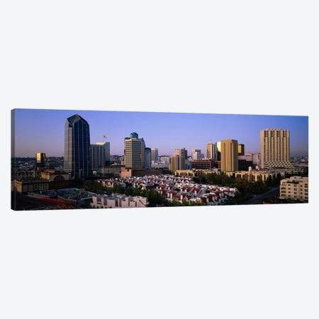 Buildings in a city, San Diego, California, USA #3 Canvas Print #PIM875} by Panoramic Images Canvas Art