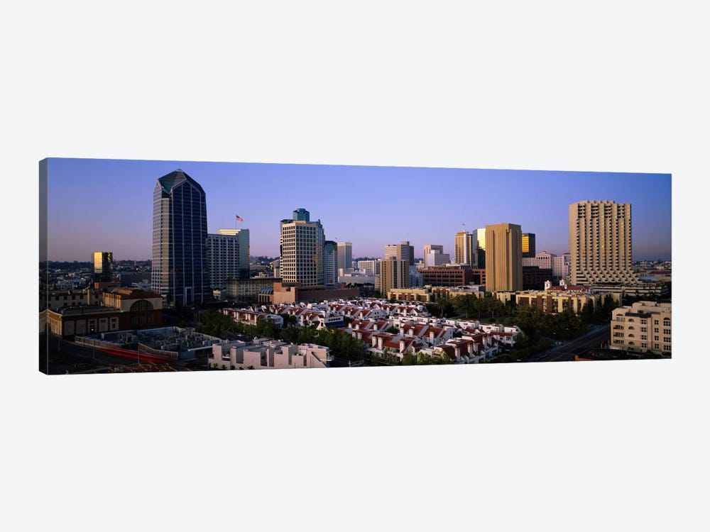 Buildings in a city, San Diego, California, USA #3 by Panoramic Images 1-piece Art Print