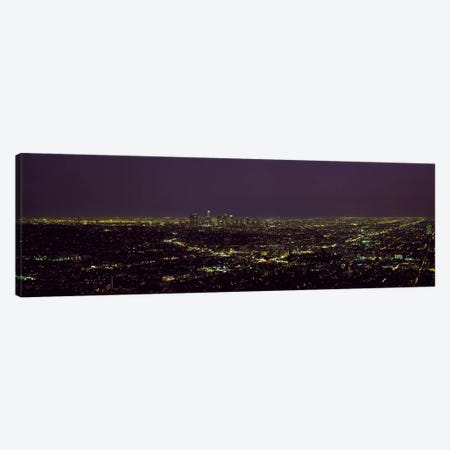 High angle view of a cityscape, Los Angeles, California, USA Canvas Print #PIM8765} by Panoramic Images Canvas Print