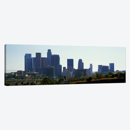 Skyscrapers in a city, Los Angeles, California, USA 2009 Canvas Print #PIM8766} by Panoramic Images Canvas Print