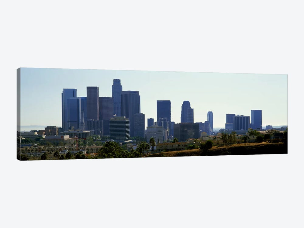 Skyscrapers in a city, Los Angeles, California, USA 2009 by Panoramic Images 1-piece Canvas Art