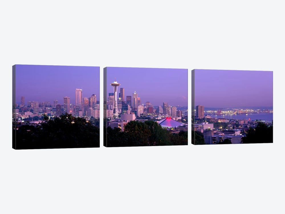 Seattle WA USA by Panoramic Images 3-piece Art Print