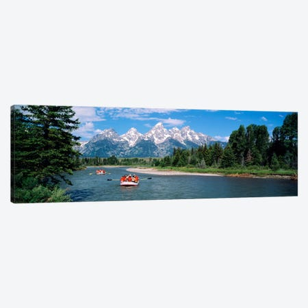 Rafters Grand Teton National Park WY USA Canvas Print #PIM878} by Panoramic Images Canvas Print
