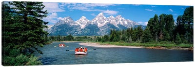 Rafters Grand Teton National Park WY USA Canvas Print #PIM878