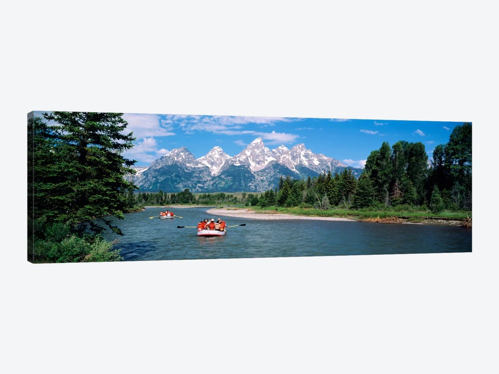 Rafters Grand Teton National Park WY USA by Panoramic Images 1-piece Canvas Art