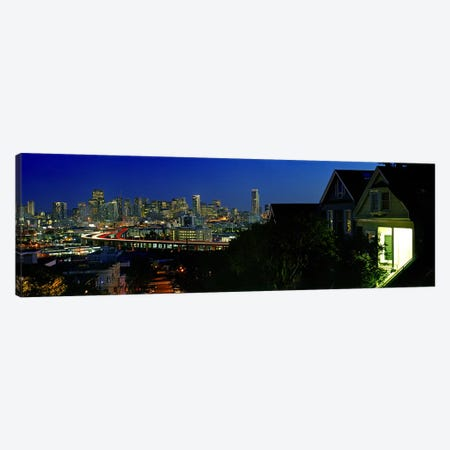 Buildings in a city, San Francisco, California, USA 2009 Canvas Print #PIM8805} by Panoramic Images Canvas Artwork