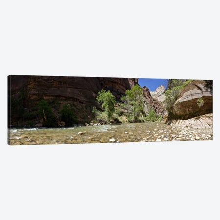 North Fork of the Virgin River, Zion National Park, Washington County, Utah, USA Canvas Print #PIM8825} by Panoramic Images Canvas Artwork