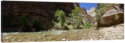 North Fork of the Virgin River, Zion National Park, Washington County, Utah, USA Canvas Art Print