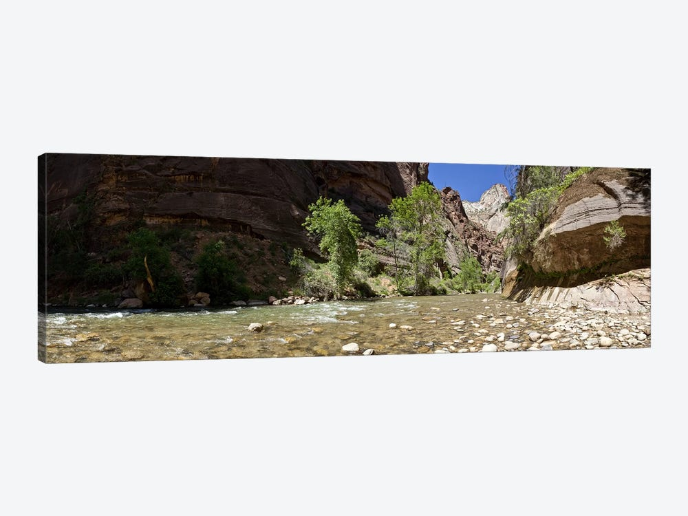 North Fork of the Virgin River, Zion National Park, Washington County, Utah, USA by Panoramic Images 1-piece Art Print