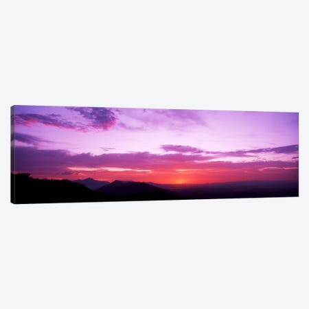 Clouds over mountains, Sierra Estrella Mountains, Phoenix, Arizona, USA Canvas Print #PIM882} by Panoramic Images Canvas Art