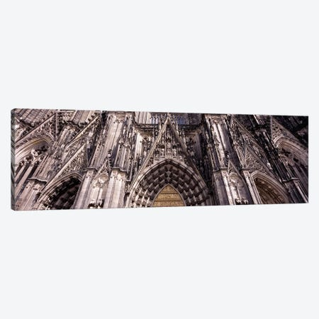 Architectural detail of a cathedralCologne Cathedral, Cologne, North Rhine Westphalia, Germany Canvas Print #PIM8835} by Panoramic Images Canvas Art Print