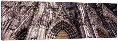 Architectural detail of a cathedralCologne Cathedral, Cologne, North Rhine Westphalia, Germany Canvas Print #PIM8835