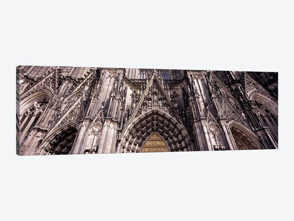 Architectural detail of a cathedralCologne Cathedral, Cologne, North Rhine Westphalia, Germany by Panoramic Images 1-piece Canvas Wall Art