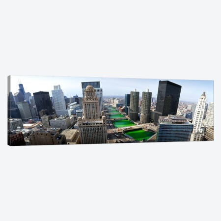 St. Patrick's Day Chicago IL USA Canvas Print #PIM883} by Panoramic Images Canvas Art