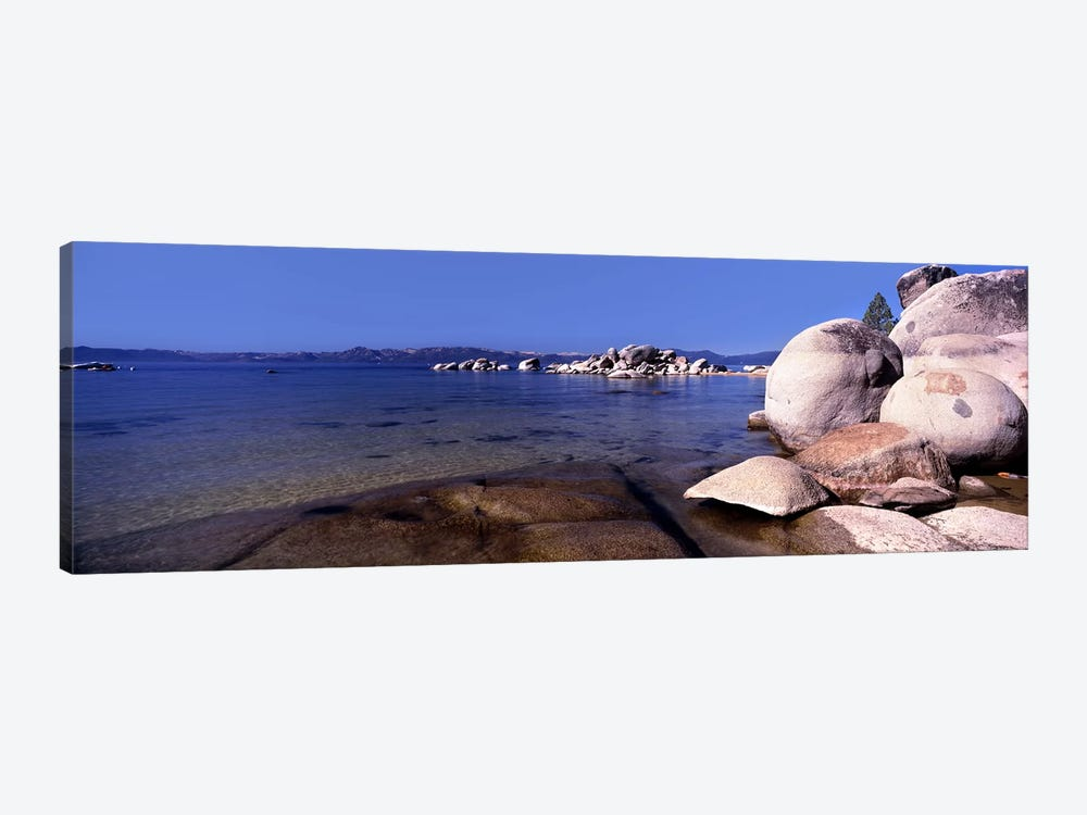 Boulders at the coast, Lake Tahoe, California, USA by Panoramic Images 1-piece Art Print