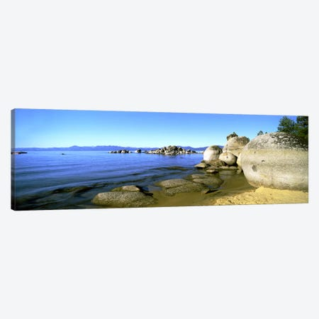 Boulder Piles, Lake Tahoe, California, USA Canvas Print #PIM8848} by Panoramic Images Art Print