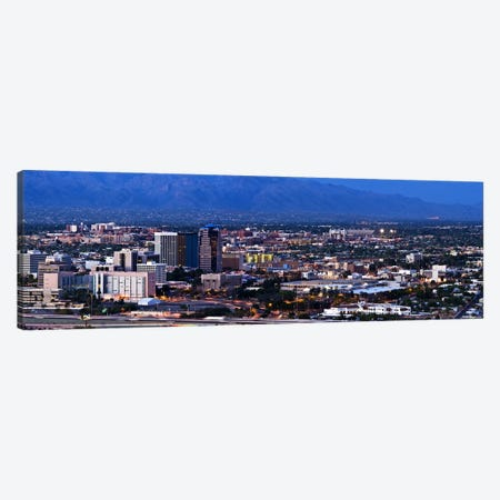 Aerial view of a city, Tucson, Pima County, Arizona, USA 2010 Canvas Print #PIM8849} by Panoramic Images Canvas Art Print
