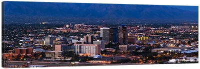 Aerial view of a city, Tucson, Pima County, Arizona, USA 2010 #2 Canvas Art Print