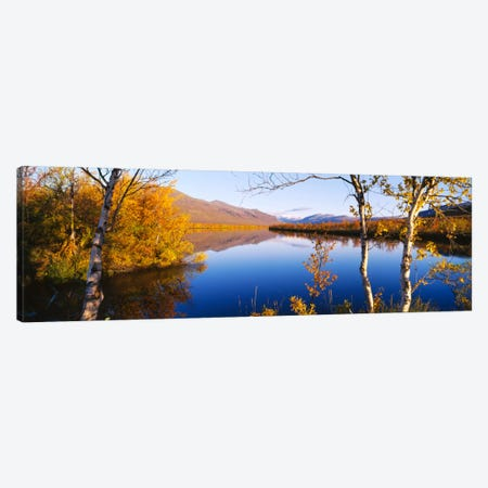Autumn Landscape, Vistas Valley, Lappland, Sweden Canvas Print #PIM885} by Panoramic Images Canvas Print