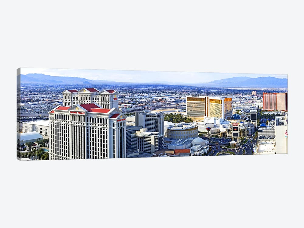 The Strip, Las Vegas, Clark County, Nevada, USA by Panoramic Images 1-piece Art Print