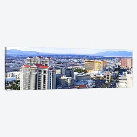 The Strip, Las Vegas, Clark County, Nevada, USA Canvas Print #PIM8865} by Panoramic Images Canvas Art