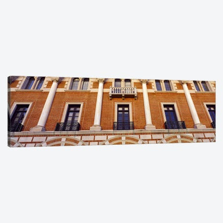 Low angle view of an educational building, Rice University, Houston, Texas, USA Canvas Print #PIM8878} by Panoramic Images Canvas Wall Art